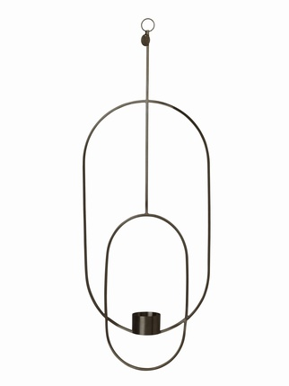 Ferm Living - Black Hanging Tealight Deco Living > Candles + Candle holders