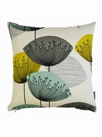 Sanderson Dandelion Clocks cushion cover - Chaffinch