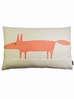 Mr Fox cushion cover - Beige