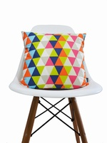 Harlequin Geometric cushion cover - Kaleidoscope Multi