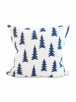 Fine Little Day Gran cushion cover - White/Midnight Blue