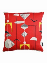 Sanderson Mobiles Cushion Cover   RED