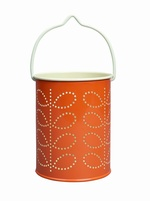 Orla Kiely Tealight lantern - Orange