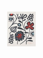 Flower Meadow Swedish dishcloth