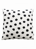 Monochrome Spot cushion cover