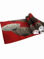 Sanderson Dandelion Clocks Placemats - Red