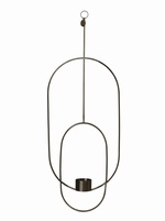 Ferm Living - Black Hanging Tealight Deco