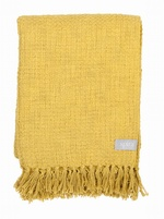 Olivia Cotton blanket Yellow